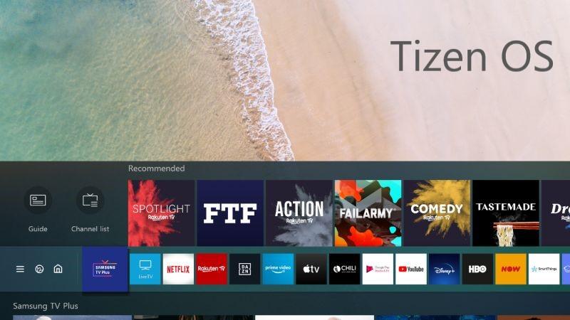 Tizen Samsung OS
