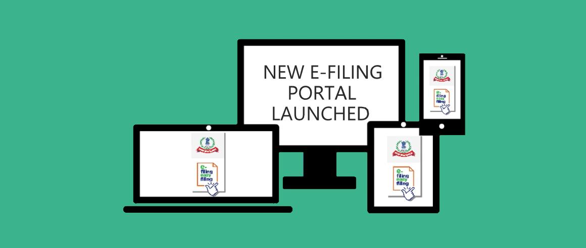 New E-Filing Portal - File Income Tax Return Feature Image