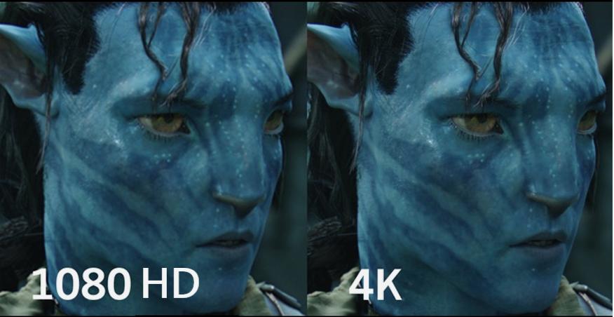 HD vs 4K TV